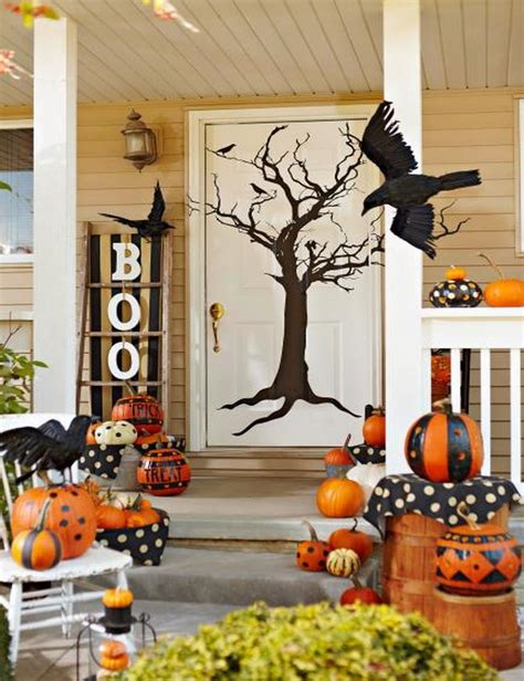 Scary Front Porch Decoration Ideas For Halloween Home