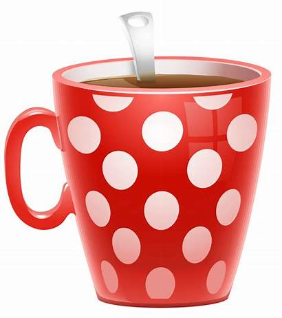 Coffee Cup Mug Clipart Dotted Transparent Background