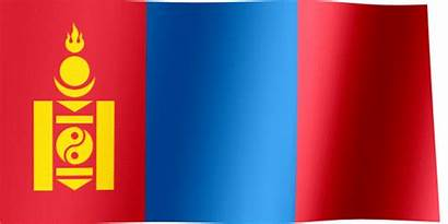Flag Mongolia Waving Flags Animated National