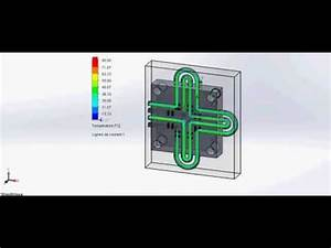 Circuit De Refroidissement : simulation de circuit de refroidissement des deux moules youtube ~ Medecine-chirurgie-esthetiques.com Avis de Voitures