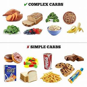 Simple Carbohydrates Vs  Complex Carbohydrates