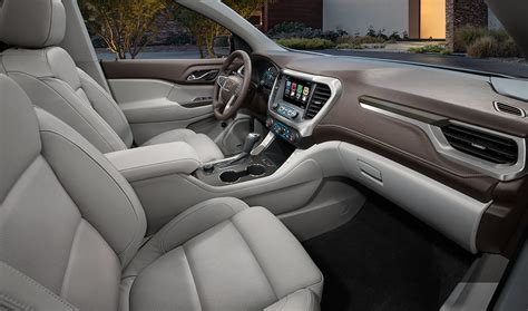 powerful  spacious   gmc acadia test drive review