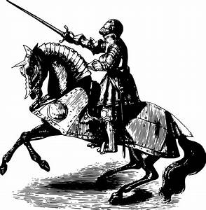 Knights, Clipart, Armored, Horse, Knights, Armored, Horse