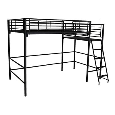 lit mi hauteur avec bureau mezzanine lits superposés lits mezzanine 2 places alinéa