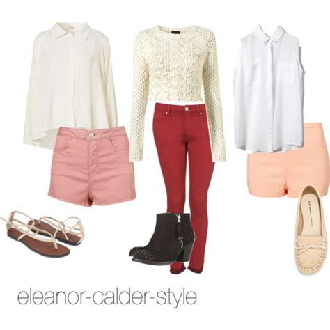 Requested El inspired Back to school outfits with more colorOutfit 1 Top Bottoms ShoesOutfit ...