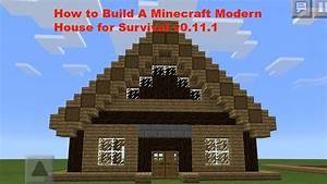 How To Build a Cool Modern Minecraft Pe House v0.12.1 ...