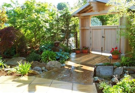 landscape garden plans ideas with front entry garden