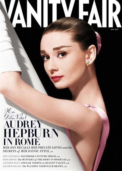 vanity fair cover hepburn s my never thought she was