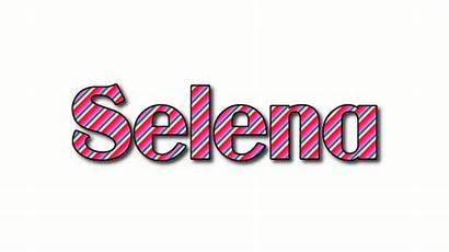 Selena Logos Text
