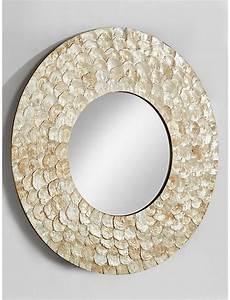 Wandspiegel Rund : spiegel rund wandspiegel wanddeko wandschmuck wohnzimmer ~ Pilothousefishingboats.com Haus und Dekorationen
