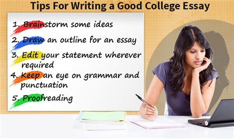 Rules For Writing A Good College Admission Essay  Tutorvista Blog