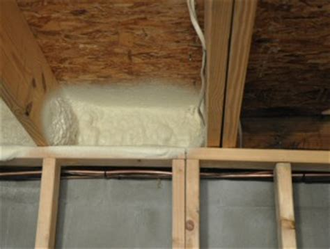 Rim Joist Insulation   Options and Methods
