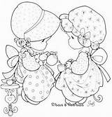 Precious Flickr Moments Coloring Pages Rabiscos Riscos Tea Via Kay Hair Long sketch template