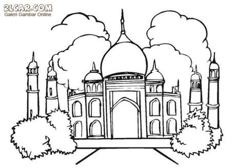 gambar lomba mewarnai masjid