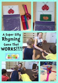 kindergarten literacy rhyming words images