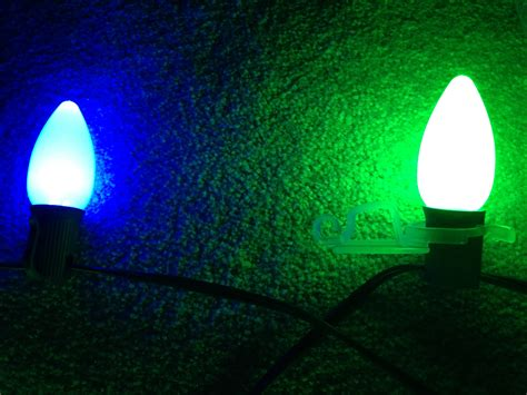 what is the difference between c7 and c9 light bulbs c9 christmas lights c9 multicolor commercial led