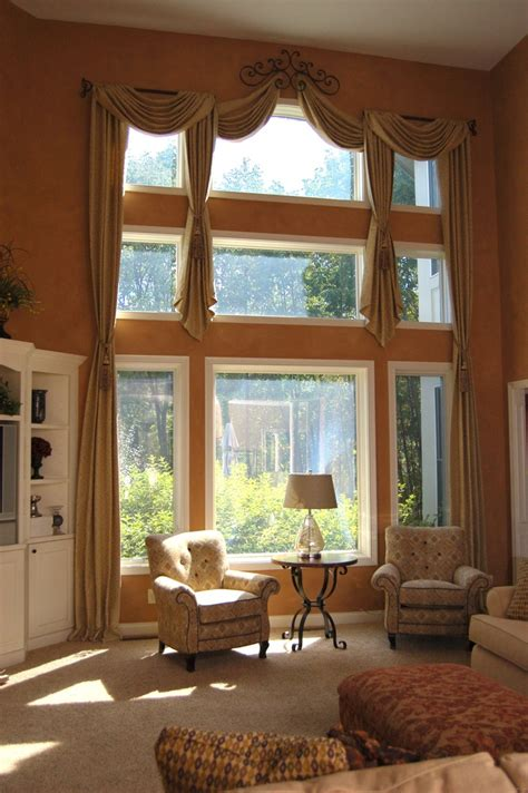 arched window treatment hardware 159 best two window treatments images on