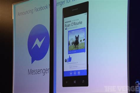facebook messenger coming to windows phone soon the verge