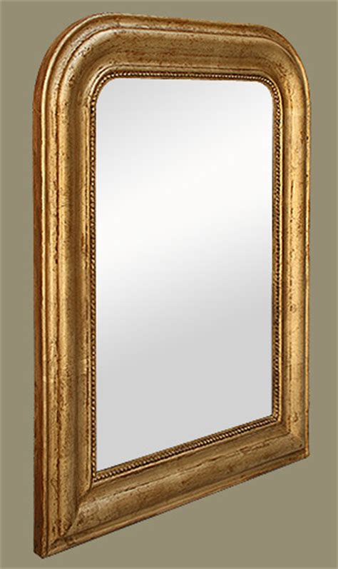 miroir louis philippe bois dor 233