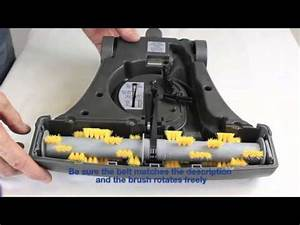 How To Change The Belt On A Vacuflo Turbo Cat Zoom Power