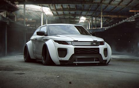 khyzyl saleem artwork car vehicle land rover widebody