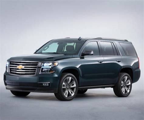 2017 Chevrolet Tahoe Trims  Limited Become Premier