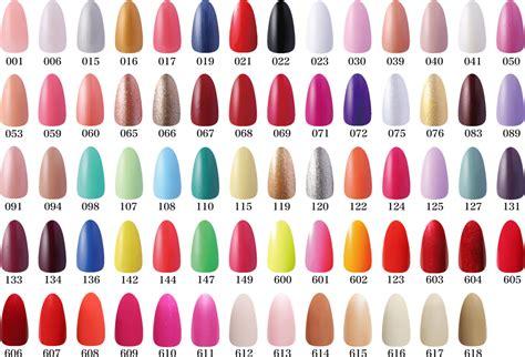 Opi Nail Polish Colors And Names