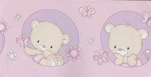 Tapeten Bordüre Kinderzimmer : lovely kinderzimmer bord re 0013 09 b rchen rosa flieder ~ Eleganceandgraceweddings.com Haus und Dekorationen