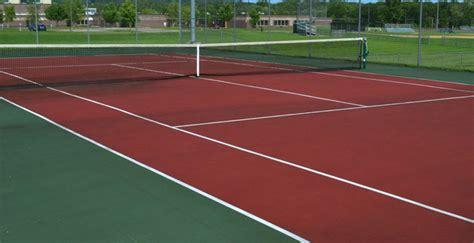 clay acrylic tennis court builder houston build  tennis court  home