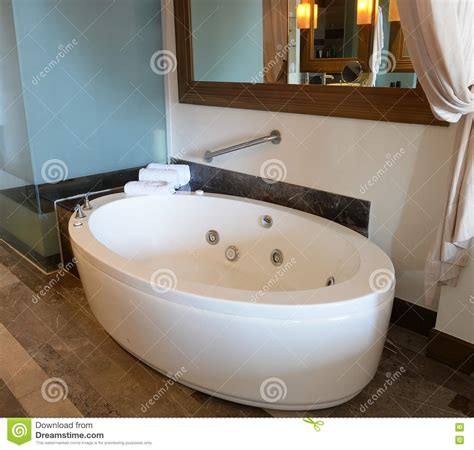 Spa Tubs For Bathroom by Spa Tub In Bathroom Stock Image Image Of Floor Vacant