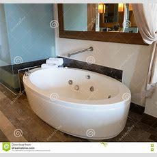 Spa Tub In Bathroom Stock Image Image Of Floor, Vacant