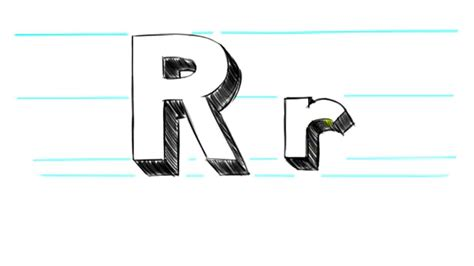 how to draw 3d letters p uppercase p and lowercase p in 3d letter r theveliger 71177