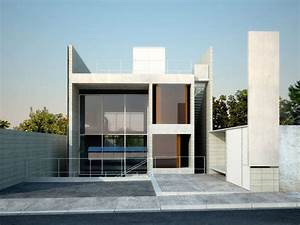 Simple Modern House Architecture With Minimalist Style | 4 ...