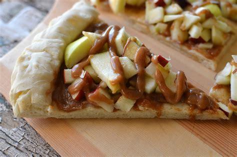 apple almond dessert pizza recipe healthy ideas for