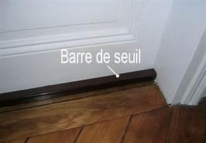 Barre De Porte D Entrée : poser une barre de seuil decobrico ~ Premium-room.com Idées de Décoration