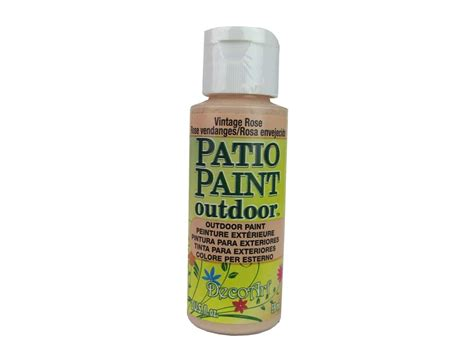 decoart patio paint  oz vintage rose createforless