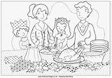 Coloring Dinner Colouring Dining Cooking Breakfast Drawing Table Activityvillage Barn Furniture Para Children Colorear Gratis Sitting sketch template