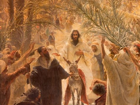 palm sunday  important facts