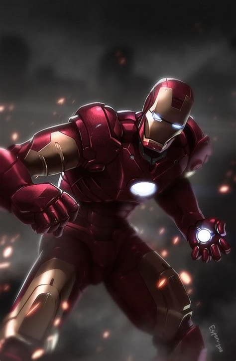 Iron Man Artwork by Amazing Iron Man Fan Art 25 Images