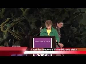 Women's Bond Club 2013 Merit Award Dinner - YouTube