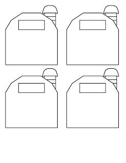barn template bigfoot pickle s craft ideas small templates barn fish bowl and circus tent