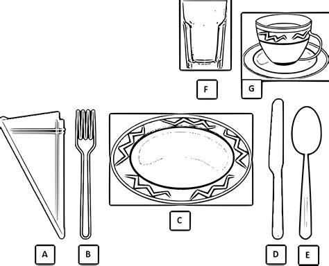 table arrangement clipart clipground