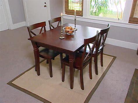 rug dining table dining table area rug dining table