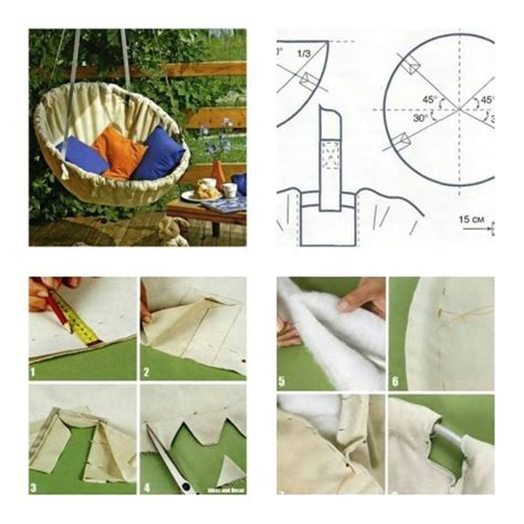 how to make hammock chair step by step diy tutorial