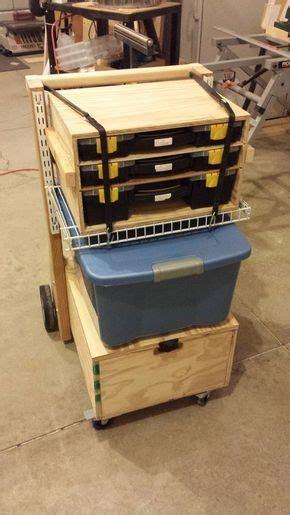 ideas  tool cart   pinterest tool
