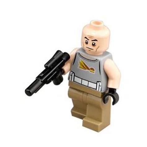 LEGO STAR WARS MINIFIGURE COMMANDER GREGOR WITH BLASTER ...