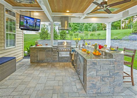 custom outdoor living space designers delaware outdoor living