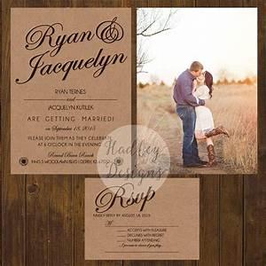 hadley designs rustic With country wedding invitations ideas