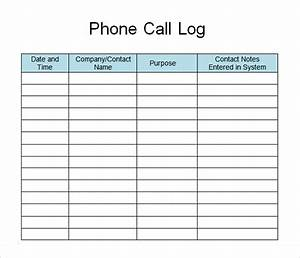 phone call list template google search call log With on call roster template