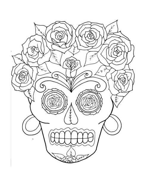 sugar skull coloring book sugar skull coloring pages coloring books for